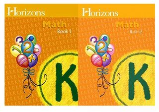 Horizons-math-k-workbooks-1-and-2